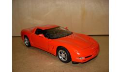 модель 1/18 Chevrolet Corvette Z06 C-5 2000 Mattel/Hot Wheels металл 1:18, масштабная модель