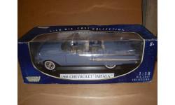 модель 1/18 Chevrolet Impala 1960 Motormax металл 1:18, масштабная модель, scale18