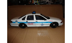модель 1/18 Chevrolet Caprise Chicago Police USA полиция UT, масштабная модель, 1:18, UT Models