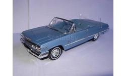 модель 1/24 Chevrolet Chevy Impala 1963 Welly  металл
