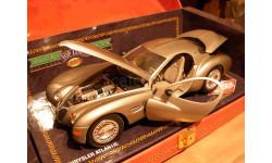 модель 1/18 Chrysler Atlantic Guiloy концепт металл, масштабная модель, 1:18