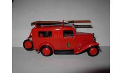 модель 1/43 Citroen 500 kgs пожарный фургон Eligor France металл, масштабная модель, 1:43, Citroën