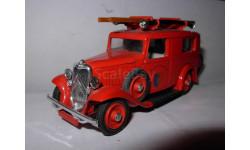 модель 1/43 Citroen 500 kgs пожарный фургон Eligor France металл