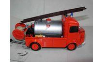 модель  1/43 пожарый, цистерна Citroen H Eligor металл 1:43, масштабная модель, scale43, Citroën