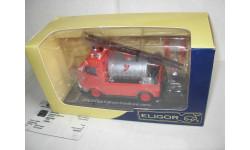 модель  1/43 пожарый, цистерна Citroen H Eligor металл