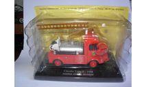 модель  1/43 пожарый, цистерна Citroen H Eligor металл 1:43 журнальный, масштабная модель, scale43, Citroën