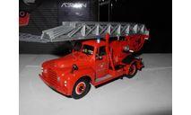 1/43 пожарный Citroen T46 пожарная лестница / fire ladder Norev металл 1:43, масштабная модель, scale43, Citroën