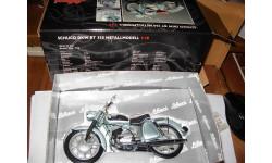 1/10 модель мотоцикл DKW RT350 Schuco металл 1:10, масштабная модель мотоцикла