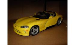 модель 1/18 Dodge Viper RT/10 Burago Italy металл 1:18