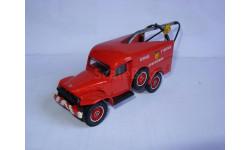модель пожарный кран эвакуатор 1/50 Dodge WC54 Solido  France металл 1:50