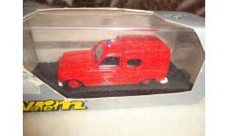 модель  1/43 пожарый фургон Renault 4 Verem/Solido France металл, масштабная модель, 1:43