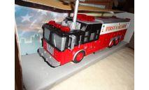 1/43 модель пожарный Chicago США/USA Boley пластик 1:43, масштабная модель, scale43