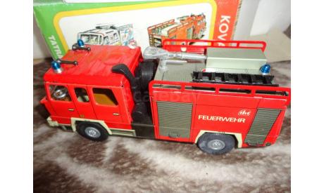 модель 1/43 пожарый Tatra 815 KOVAP жесть, масштабная модель, 1:43