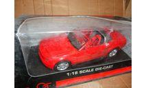 модель 1/18 Ford Mustang 2005 Convertible Concept Beanstalk металл 1:18, масштабная модель