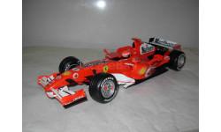 модель F1 Формула 1 1/18 Ferrari F248 Marlboro 2006 #5 M.Schumacher/Шумахер Mattel/Hot Wheels металл 1:18