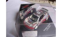 модель 1/43 Peugeot 206 WRC металл 1:43, масштабная модель, scale43, SKID