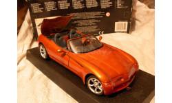 модель 1/18 Dodge Copperhead ROADSTER Concept vehicle концепт Maisto металл 1:18, масштабная модель
