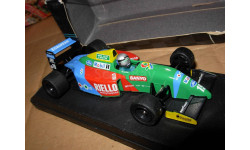 модель 1/43 F1 Formula/Формула-1 Benetton Ford B190 1990 #19 Nannini металл