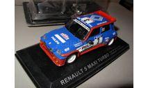 модель 1/43 RENAULT 5 MAXI TURBO Tour De Corse 1985 J.Ragnotti P.Thimonier Rally Ралли металл 1:43, масштабная модель, scale43