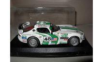 гоночная модель 1/43 Dodge Viper GTSR #48 Le Mans 1996 Universal Hobbies металл 1:43, масштабная модель, scale43