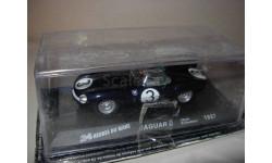 гоночная модель 1/43 Jaguar D-type #3 I.Bueb-R.Flickhart Winner LeMans 1957 IXO металл, масштабная модель, 1:43, IXO Rally (серии RAC, RAM)