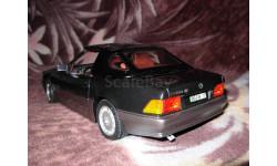 модель 1/18 Mercedes Benz '500SL 32' Roadster Soft Top R129 Revell металл, масштабная модель, 1:18, Mercedes-Benz