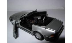 модель 1/43 Mercedes Benz 320SL R129 кабриолет Detail Cars 230 металл Мерседес, масштабная модель, 1:43, Mercedes-Benz