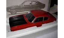 Модель 1/18 Ford Capri 1 RS 2600 1970 Minichamps 1:18, масштабная модель