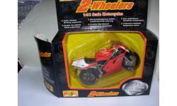 1/18 модель мотоцикл Ducati 996 Maisto металл 1:18, масштабная модель мотоцикла, scale18
