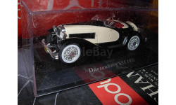 модель 1/43 Duesenberg SSJ 1933 металл