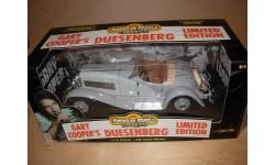 модель 1/18 Duesenberg SJ Roadster Gary Cooper ERTL металл 1:18, масштабная модель, ERTL (Auto World), Ford