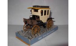 модель 1/43 MB Erster Benz omnibus 1894 Cursor 1:43, масштабная модель, Mercedes-Benz
