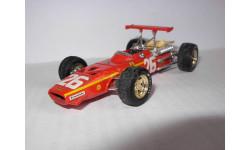модель 1/43 F1 Formula/Формула-1 Ferrari 312 #26 Brumm металл