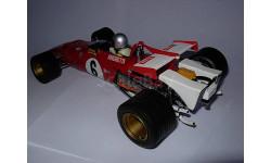 гоночная модель формула-1 F1 1/18 Ferrari 312B 1971 #6 M.Andretti Exoto металл