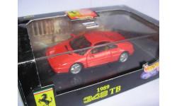 модель Ferrari 348TB HotWheels 1/43 металл