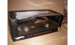 модель 1/18 Ferrari 410 Superamerica Mattel Hot Wheels Elite металл 1:18, масштабная модель, scale18