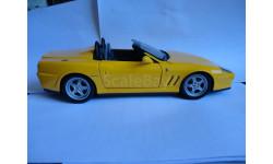 модель 1/18 Ferrari 550 Barchetta Mattel/Hot Wheels металл 1:18, масштабная модель, Mattel Hot Wheels