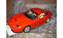 модель 1/18 Ferrari 550 Burago  металл