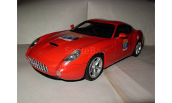 модель 1/18 Ferrari Ferrari 575GTZ Zagato Mattel/Hot Wheels металл 1:18, масштабная модель