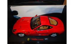 модель 1/18 Ford Ferrari 599 GTB Fiorano Mattel/Hot Wheels Elite металл, масштабная модель, 1:18, Mattel Hot Wheels