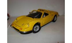 модель 1/18 Ferrari Dino 246GTS Mattel/Hot Wheels металл 1:18