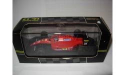 модель 1/43 F1 Formula/Формула-1 Ferrari F1 -91B  643 1991 #28 Jean Alesi Onyx металл 1:43