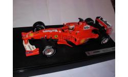 модель F1 Формулы 1 1/18 Ferrari F2000 Marlboro launch version 2001 #1 M.Schumacher/Шумахер Mattel/Hot Wheels металл