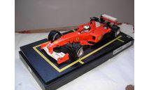 модель F1 Формула 1 1/18 Ferrari F2000 #3 M.Schumacher/Шумахер King of Rain Mattel/Hot Wheels металл 1:18, масштабная модель, Mattel Hot Wheels, scale18