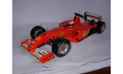 модель F1 Формула 1 1/18 Ferrari F2001 #1 M.Schumacher/Шумахер Mattel/Hot Wheels металл