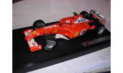 модель F1 Формулы 1 1/18 Ferrari F2001 Marlboro, launch version 2002 #1 M.Schumacher/Шумахер Mattel/Hot Wheels металл