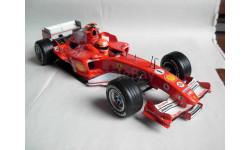 модель F1 Формулы 1 1/18 Ferrari F2005 2005 #1 M.Schumacher/Шумахер Mattel/Hot Wheels металл, масштабная модель, 1:18, Mattel Hot Wheels