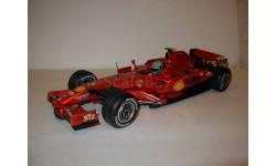 модель F1 Формула 1 1/18 Ferrari F2008 2008 #2 Felipe Massa Mattel/Hot Wheels металл 1:18
