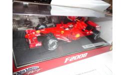 модель F1 Формулы-1 1/18 Ferrari F2008 #1 Kimi Raikkonen Mattel/Hot Wheels металл