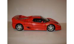 модель 1/18 Ferrari F50 1995 Burago металл 1:18